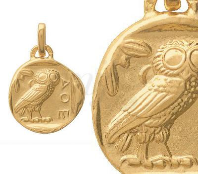 Médaille Chouette d'Athène - Monnaie de Paris