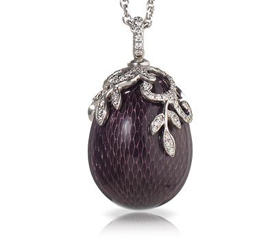 Oeuf Nina Prune de Fabergé