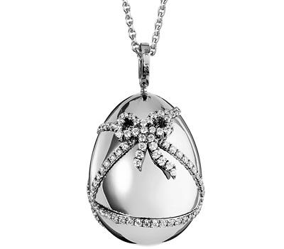 Pendentif oeuf de Fabergé joaillerie