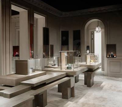 Stand Cartier - Biennale des Antiquaires 2012