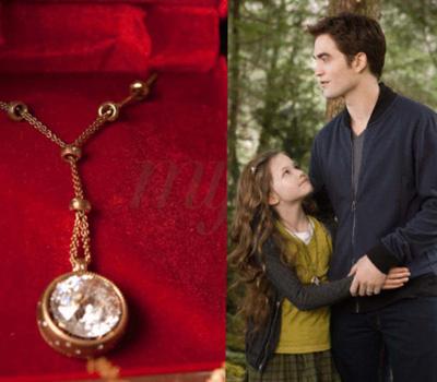 Le bijou collier Aro de Twilight par Damiani