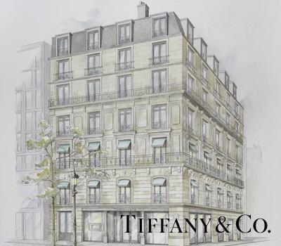 Boutique Tiffany & Co - Champs Élysées Paris