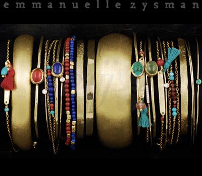 Bracelets Emmanuelle Zysman Bijoux