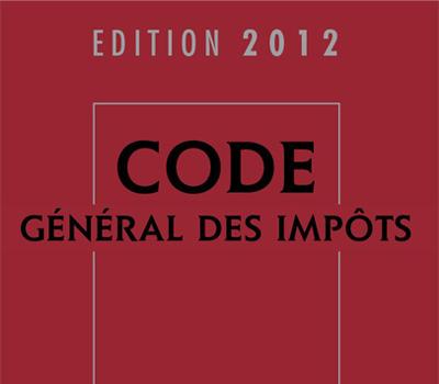 Code général des impôts 2012 et articles métaux précieux