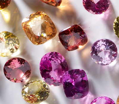 Diamants de couleurs