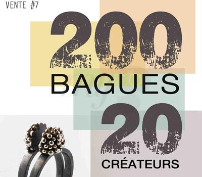 Exposition 200 Bagues / 20 Créateurs - 2012