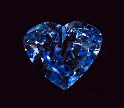 Heart of Eternity : diamant bleu