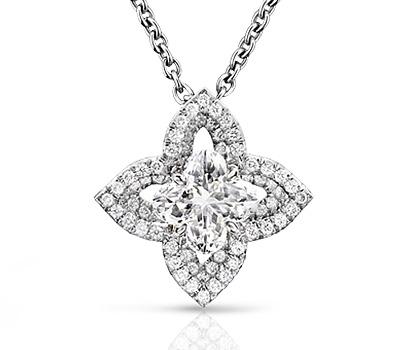 Pendentif en diamant de Louis Vuitton