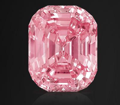 Pink Graff : diamant rose