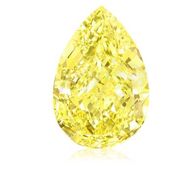 Sun Drop : diamant jaune