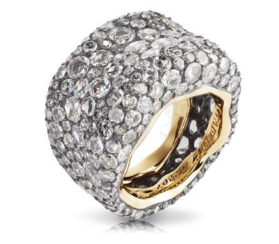 Bague Fabergé Émotion avec des diamants blancs