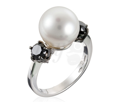 Bague perle Damiani Vente privée