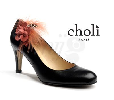 Bijou Chaussure Bouton de Rose - Choli