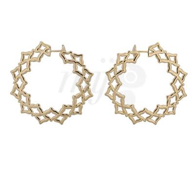 Boucles d'Oreilles Créoles Chakras - Caspita