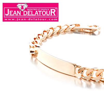 Bracelet identité pour homme chez Jean Delatour