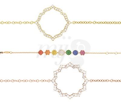 Bracelets Silhouette Chakras - Caspita