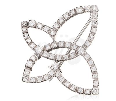 Broche Diamants Damiani Vente privée