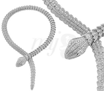 Collier Serpenti 2012 - Bulgari Courchevel