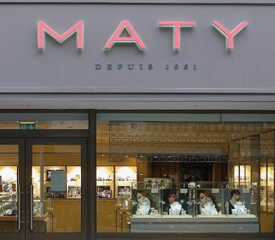 Les emplois dans les boutiques Maty