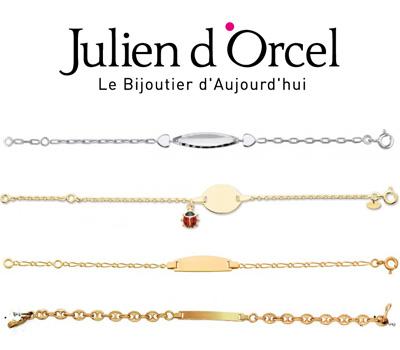 Gourmettes pour bébé Julien d'Orcel