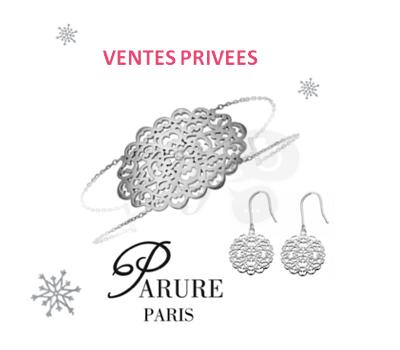 Vente Privée de Bijoux Parure Paris