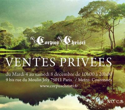 Vente Privée Corpus Christi 2012