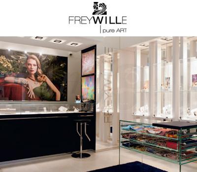 100ème Boutique Frey Wille