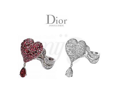 Bague Coeur Cupidon - Dior Joaillerie