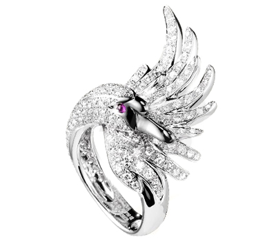 Bague Cypris Diamants Blancs - Boucheron