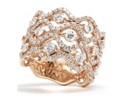 Bague Diamants - Illustration Vente Privée Diamanta