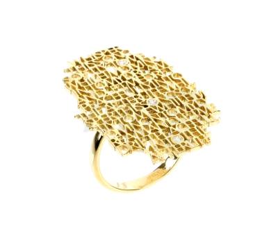 Bague Mantra Diamant - Perlota