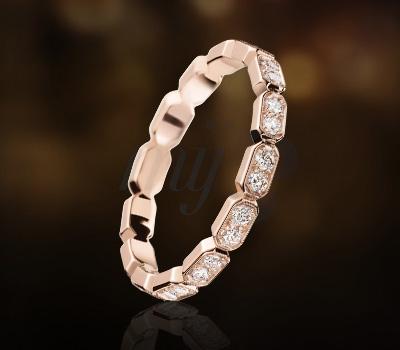 Bague Première Or Rose Diamants - Chanel