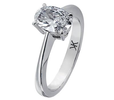 Bague solitaire diamant de Korloff