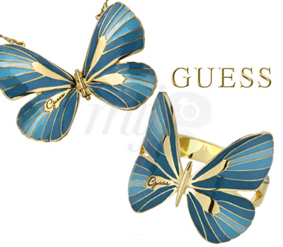Bijoux Papillons Guess 2013