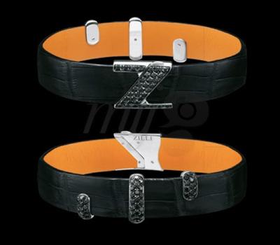 Bracelet Joaillier Zilli Diamant Noir