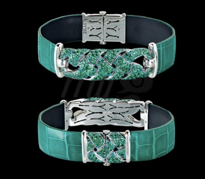 Bracelet Joaillier Zilli Émeraude