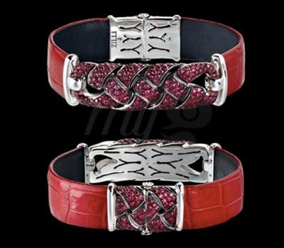 Bracelet Joaillier Zilli Rubis