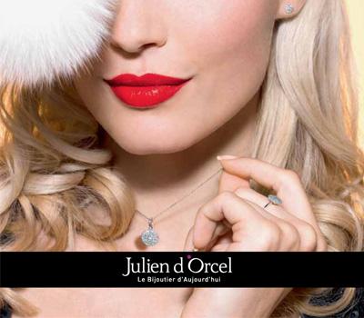 Catalogue de bijoux Julien d'Orcel