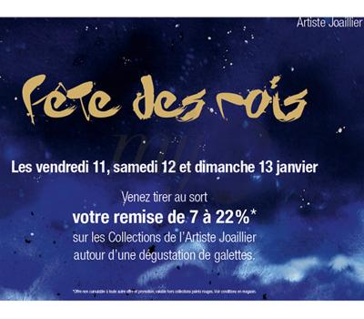 Promotion Fête de rois - Mauboussin