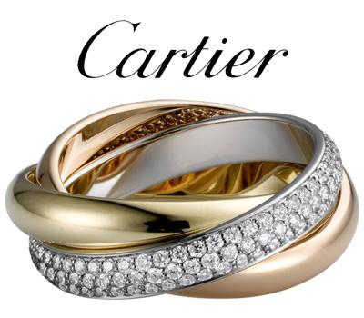 Alliance Cartier 3 anneaux