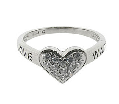 Bague de pureté True Love Waits