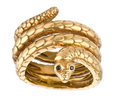 Bague serpent d'Aurélie Bidermann