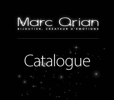 Catalogue des bijoux Marc Orian