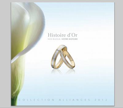 Catalogue Histoire d'or alliances