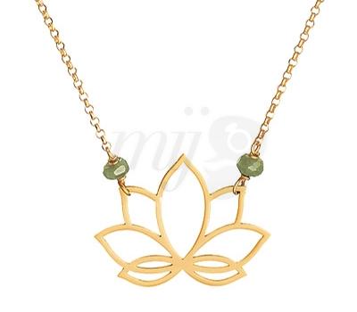 Collier Lotus Perle de Lune - Belancy