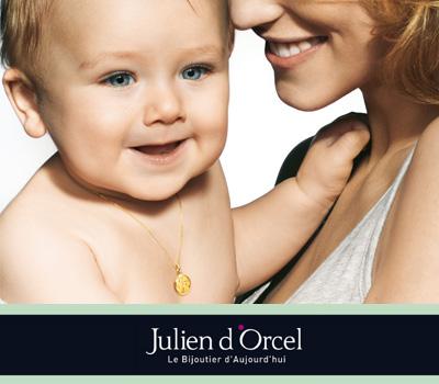 Gourmettes pour bébé chez Julien d'Orcel