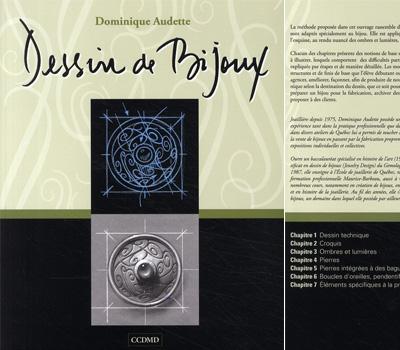 Livre sur le dessin de bijoux