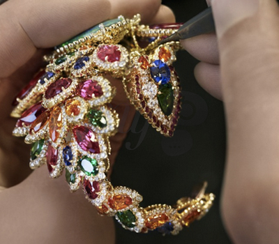 Sertissage Bracelet Dentelle Opale d'Orient - Dior