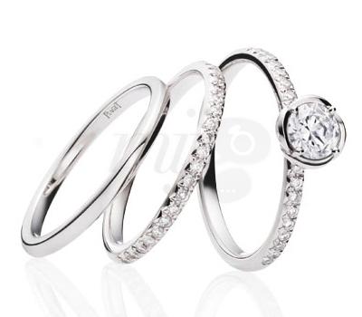 Solitaire et Alliances Piaget Diamants