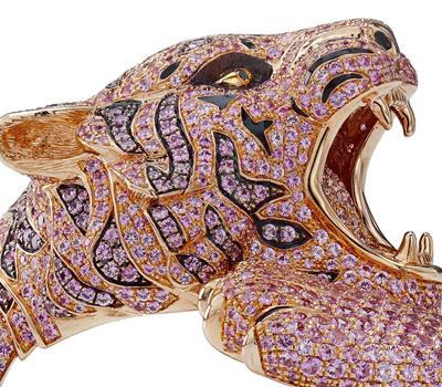Tête Tigre - Bracelet Roberto Coin